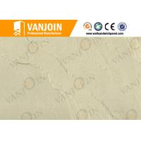 China Customized soundproof Clay Wall Tile , Flame Retardant Slate Stone Tile Plant fiber Material on sale