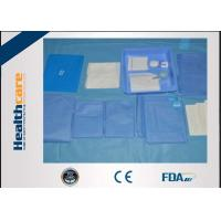 Quality EO Sterilization Disposable Surgical Drape SMS T.U.R. Pack With CE And ISO Certificate for sale