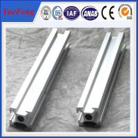 Quality industrial t-slot aluminium extrusion manufacturer, anodized aluminum extrusion drawings for sale