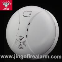 China Portable fire alarm systems smoke detector 9V battery with buzzer on sale
