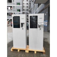 Quality 23.8inch Outdoor Electronic Self Service Mobile Payment Machine Terminal Kiosk With POS System Bar Code Scanner for sale
