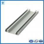 Quality Solar panel aluminium frame electrophoresis extruded aluminum profiles T4 / T5 / T6 for sale