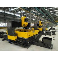 Quality Fast Speed Cnc Drilling Machine / Punching Machine For Steel Plates Tube Sheets for sale