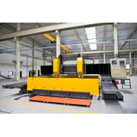 Buy Double - Spindle CNC Plate Processing Machine Gantry Movable Type Flexible at wholesale prices