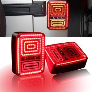 China Rear LED Tail Lights Brake Reverse Turn Singal Lamp for Jeep Wrangler JK 07-16 on sale