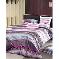 Quality Reactive Printed Floral Bedding Sets Twill Cotton With High Thread Count for sale