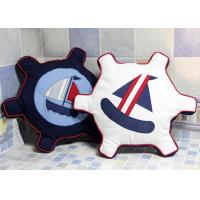 Buy cheap Patchwork Personalized Fashion Gifts Cotton Navy / White Embroidered Patchwork from wholesalers