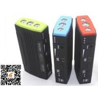 Quality Small Emergency Car Battery Jump Starter With 3*1w Led Lights for sale