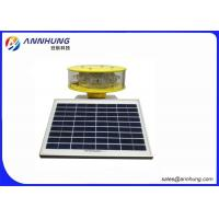 Quality IP67 Solar Aviation Obstruction Light  With Die Casting Aluminum Lamp Body for sale
