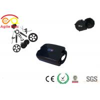 Quality 250W Bafang BBS01 Electric Bicycle Motor Kit With Frog Lithium Battery for sale