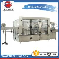 Quality Trade Assurance Auto Water Filling Machine Gas Soft Drink Processing Line for sale