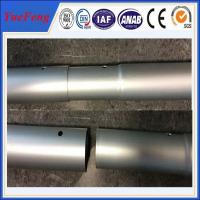 Quality Industrial oem factory china milling and drilling,aluminium pipes tubes specially for rack for sale
