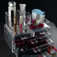 Quality CB (44) plastic clear cosmetic organizer for sale