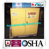 Quality Laboratory Industrial Safety Cabinets , Flammable Liquid Chemical Safety Storage Cabinet for sale