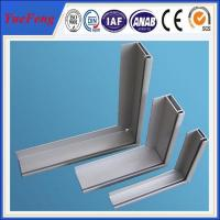 Quality anodized aluminum profile for solar aluminum extrusion, US aluminium profile for solar for sale