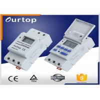 Quality Gray Color Timer Switch Digital -10~+40℃  18 On & 18 Off 18 Times Pulse for sale