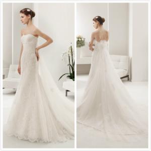 Quality Straps Lace W wedding dress #8B251 for sale