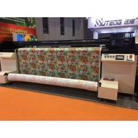 Quality Digital Polyeter / Cotton / Linen Fabric Plotter With Kyocera Print Heads for sale