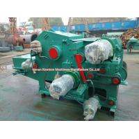 Electric Drum Chipper Machine Drum Type Industrial Wood Chipper Energy Saving for sale