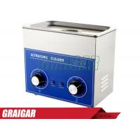 Quality 120W Heater & Timer Ultrasonic Cleaner 3L 40KHZ for Electronic Components , Dentures Cleaning Machine for sale