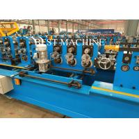 Quality Pre Punching / Post Cutting C Z U Purlin Roll Forming Machine Gcr15 Steel Roller Material for sale