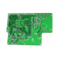 Quality Lightweight 94v0 PCB Board Green Mask Rogers 5880 0.254mm 0.2mm Hole Size for sale