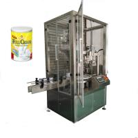 Quality automatic bottle can tin milk powder packing machine price for sale