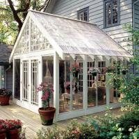 Quality Sound Insulation Glass Enclosed Sunroom With Double Glazing Grain Transfer Printing for sale