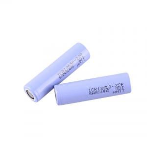 Quality Big Capacity 3.6 V 2200mAh Samsung 18650 Lithium Battery for sale