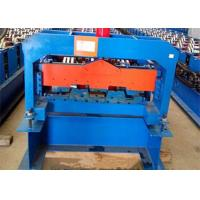 Buy cheap 18.5KW Corrugated Floor Deck Roll Forming Machine Easy To Installation from wholesalers