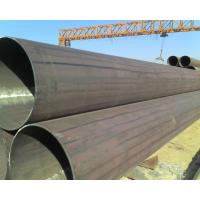 Quality Carbon Welded ERW Steel Pipe for petroleum transport , Non-alloy for sale