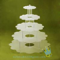 Quality CD (94) 5 tier acrylic wedding cake stands for sale
