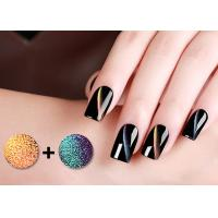 Quality Odorless 5D Cat Eye Magnetic Nail Polish With GMP Cert / Led Nail Gel Polish for sale