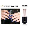 Buy cheap Non - Toxic Navy Blue Glitter Gel Nail Polish Uv Nail Varnish No Layering from wholesalers