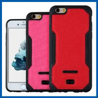China Red TPU Leather Phone Holster Iphone 6s 4.7 Cell Phone Cover on sale
