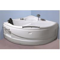 China Contemporary Electric Corner Whirlpool Bathtub With Lights / Jets 110/220V on sale