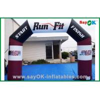 Quality Durable Waterproof Outdoor Event Inflatable Arch , Inflatable Finish Line for sale