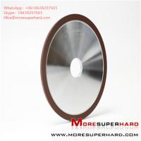 Quality Resin CBN grinding wheel processing high - speed steel tools Alisa@moresuperhard.com for sale