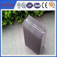 Quality HOT!reliable chinese supplier extruded large radiator heat sinks with silver color for sale
