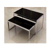 Quality Stainless Steel Nesting Display Tables 1200 * 600 * 900MM For Advertisment Exhibition for sale