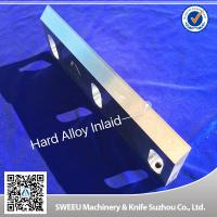 Quality Heat Treatment Plastic Granulator Blades And Knife +-50 Micron Precision for sale