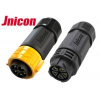 Quality Male Female IP67 Waterproof Connector PPA M25 Straight Aviation Inline for sale