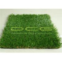 Quality 30mm Height Commercial Artificial Grass Outdoor Carpet Weather Resistance for sale