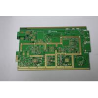 Buy Green Rogers PCB Board Cellular Base Station Rogers 4350B Board at wholesale prices