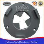 China 3 Segment Concrete Grinding Wheel 160mm Diamond Concrete Grinders For Epoxy Floor for sale