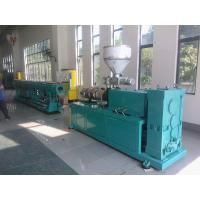 Quality Double Screw PVC Pipe Extrusion Line , Plastic Water Pipe Making Machine for sale