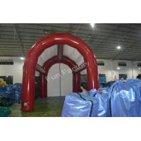 Red Outdoor Party Inflatable Lawn Tent Air Spider Tent Inflatable for sale