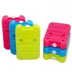 Quality Custom Packaging Design Hard Plastic Cooler Ice Pack 350G Gel Ice Brick for sale