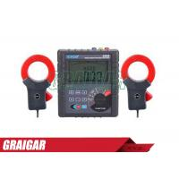 Quality ETCR3200 Electrical Instruments Double Clamp Ground Resistance Tester for sale