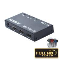4K 1.4b 1 HD HDMI Splitter Input 2 Output 5V 1A 2 Way Support 3D Video for sale